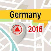 德国 离线地图导航和指南 1