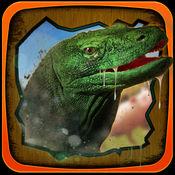 科莫多龙模拟器3D - 捕食者爬行动物冒险在荒野 1