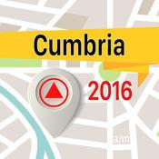 坎布里亞郡 离线地图导航和指南 1