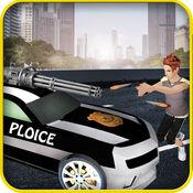 高速公路 射击 警察追逐 1