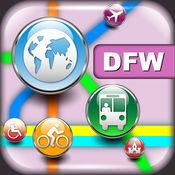 达拉斯(美国)地图 - 下载DART线路图和旅游指南 4.7.1