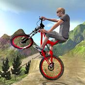 山地自行车模拟器: 自由式 BMX 游戏 3D 1