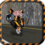 山区高速公路交通摩托车骑士 - 油门你的自由式摩托车赛车
