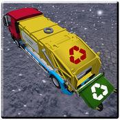 山 越野 垃圾 卡车 驾驶 模拟器 1