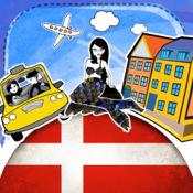 丹麦语字典 - 带有抽认卡和母语发音的免费离线短语手册 3.