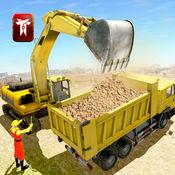 爬坡工程起重机3D自卸车及叉车 1.1