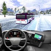 教练希尔驱动巴士驾驶雪3D辛 1