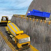 希尔建筑起重机操作员和卡车司机3D 1