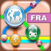 法兰克福(德国)地图 - 下载地图和旅游指南 4.7.1
