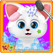 疯狂的猫沙龙 - 照顾宠物游戏 1