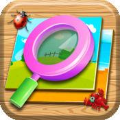 寻找隐藏的对象 - 现货秘密的对象,取景器的益智游戏为孩子