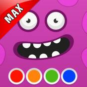 填色本 - 怪物 MAX 1.8