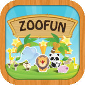 ZooFun自由 - 动物的叫声和匹配游戏的孩子 2