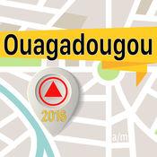 瓦加杜古 离线地图导航和指南 1