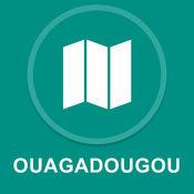 布基纳法索瓦加杜古 : 离线GPS导航 1