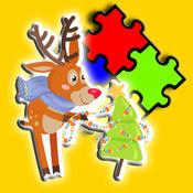 疯狂的鹿拼图为孩子们 1