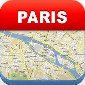 巴黎离线地图 - 城市 地铁 机场 4.4