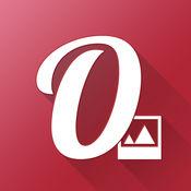 Overphoto Typography活版照片编辑器 - 写字幕,添加引号和