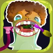 牙医疯狂小孩牙科医生诊所免费游戏 1