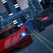 夜晚的城市交通街路车驾驶漂移和停车事业模拟器 - Night C