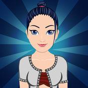 时尚女孩化妆沙龙亲 - 化妆小游戏装扮脱衣服芭比娃娃美女