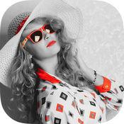 色彩效果的照片编辑器 1