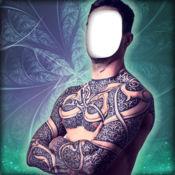 纹身 图案 照片蒙太奇应用  1