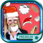 圣诞照片编辑器-圣诞老人和圣诞照片贴 — — 保费 1