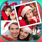 圣诞照片拼贴:寒假框架 1