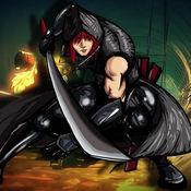 忍者刺客3D - 黑暗之刃:真正的3D角色扮演类街机格斗游戏 1