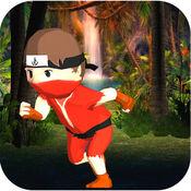纳米忍者运行 -  3D实景Sprint和跳跃比赛 1