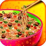 忍者面条机 - 免费烹饪游戏的孩子 1