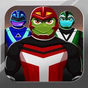 游侠龟服装. 打扮强大龟游戏 功夫英雄传说动物 有趣的护林员服装男孩 Ranger Turtles Dress Up