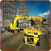 死城挖掘卡车 - 建筑模拟器 1