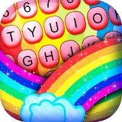 彩虹 颜色 键盘 - 设计 现代 看 1