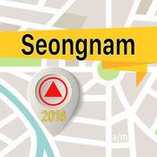 Seongnam 离线地图导航和指南 1