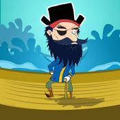 疯狂的海盗弹射...