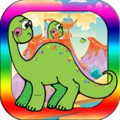 自由 恐龙 拼图 恐 龙园 恐龙 游戏 兒童 1.1.3