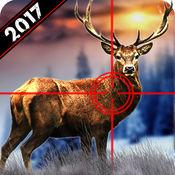 野生鹿狩猎2017年:雪狙击手射击3D 1.2