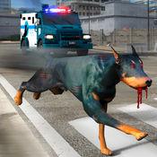 野狗逃生3D - 在这个动物救助游戏疯狂运输犬犯罪的城市 1.