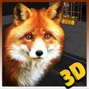 野狐模拟器3D - 扮演一个红色的猎狐偷货的水果摊位 1