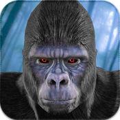 野生大猩猩模擬器2016年:猿獵人和野生動物動物的生存生活 1