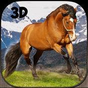 野马骑手模拟器:小马特技骑马 2