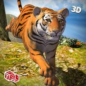 野生虎的冒险3D - 西伯利亚丛林野兽动物狩猎模拟攻击 1