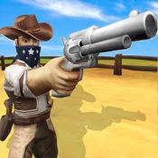 狂野的西部牛仔...