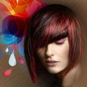渐变色染发发型设计 – 时尚照片编辑器与新潮发型 1.1