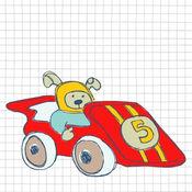 涂鸦飞车:一款有趣的赛车游戏 1.3