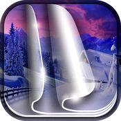 冬季 壁纸 - 美丽 雪 背景 1
