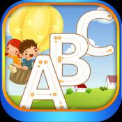 字母 图画书 学习写 在英语字母表 1.0.1