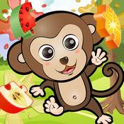 ABC 丛林拼图(高清) - 适合所有年龄(尤其学龄前儿童和儿童) 1.